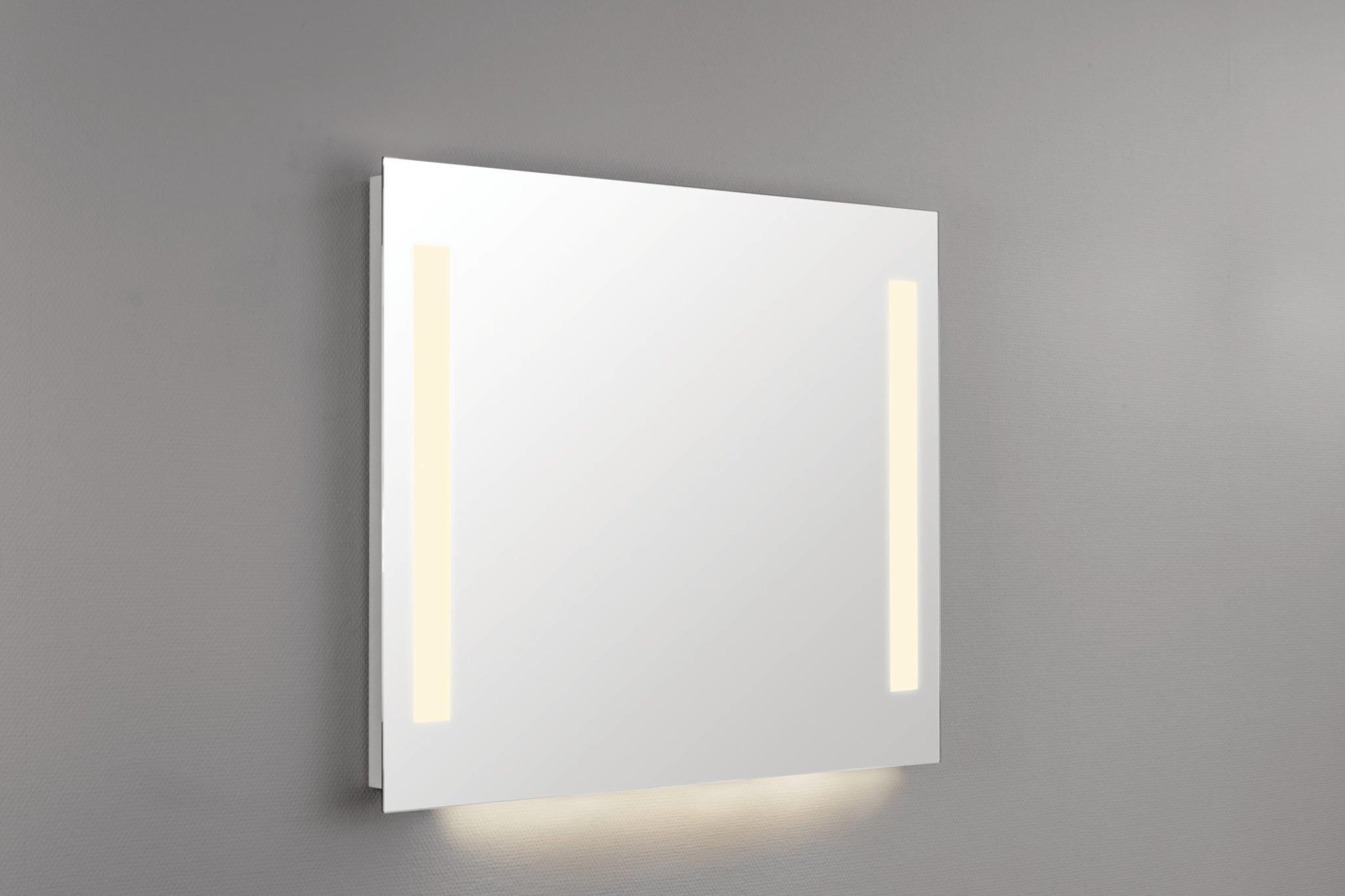 Seriøst SORA speil med LED-lys og 2 stikkontakter 40 cm - Modena Fliser TK-61