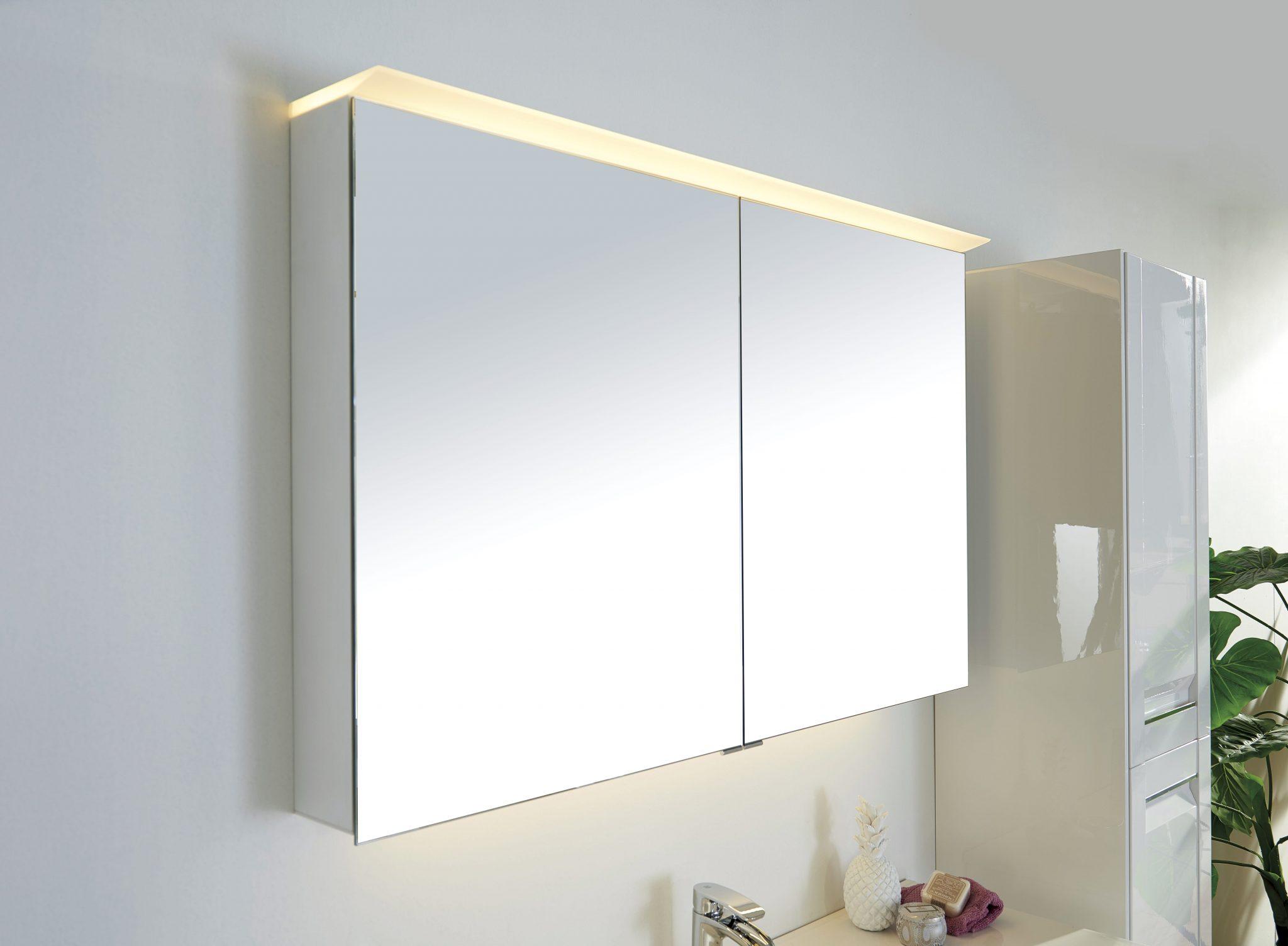 Veneto Speilskap Med Led Lys 90 Cm Modena Fliser