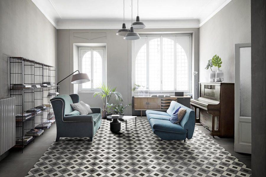 Living room ll D segni